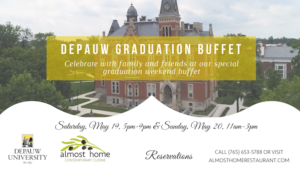 Website Featured image for DePauw Graduation Weekend Buffet