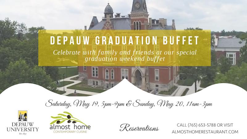 Website Featured image for DePauw Graduation Weekend Buffet