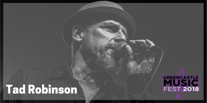 Tad Robinson, internationally recognized blues artist, will play Greencastle Music Fest